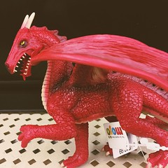 Red Dragon Action Figure