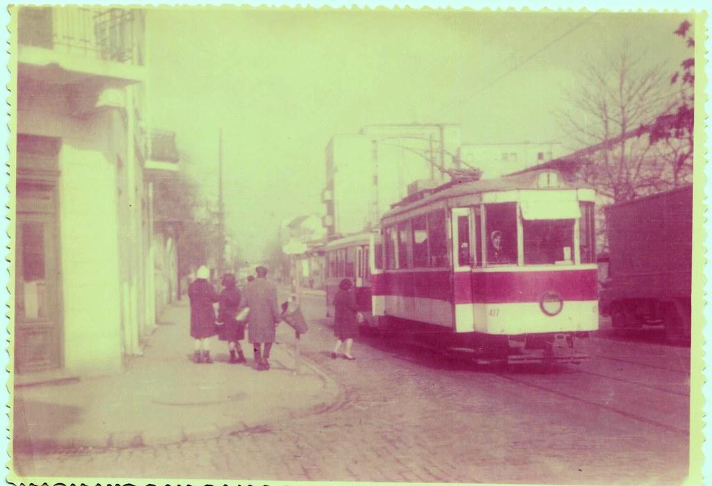 "Tramvai Ardeleni 1970 (""vintage"" scanned photo)"