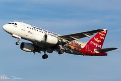 CSA Czech Airlines Airbus A319-112 |  OK-NEP  |  Amsterdam Schiphol - EHAM