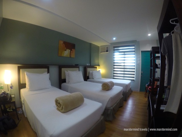 Our Room at Sea Cocoon Hotel El Nido