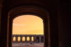 Setting Sun over the Royal Palace