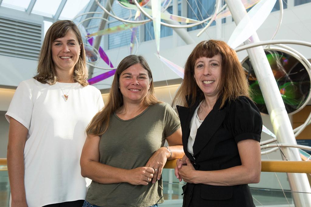 Melissa Mitchum, D Cornelison and Cheryl Rosenfeld