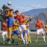 Thomas Lantmeeters (8) scores with a header from a Papadynetz corner kick_0996