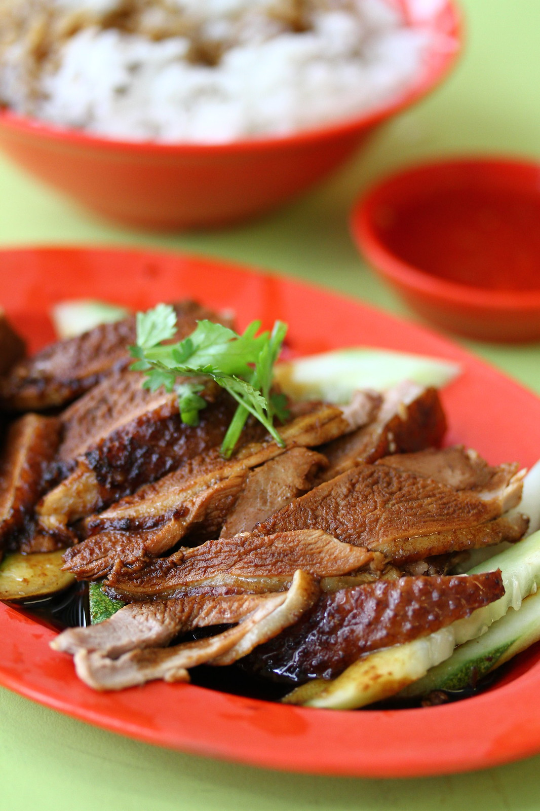 Braised Duck Rice: Ah Heng Duck Rice