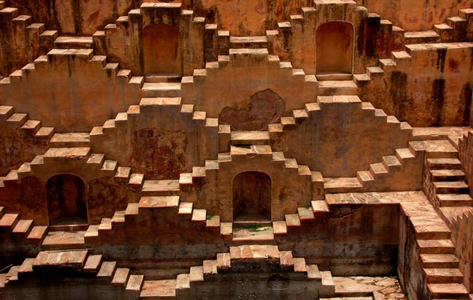 One of the many step wells of Jaipur