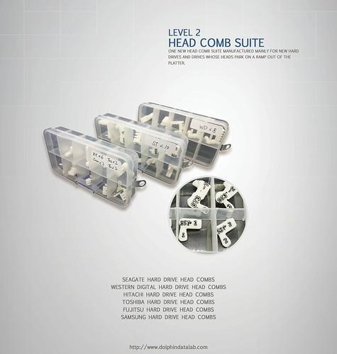 Level 2 Head Comb Suite