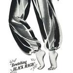 Tue, 2017-08-15 13:57 - Harem Queen Glamour-Jamas, 1951 ad