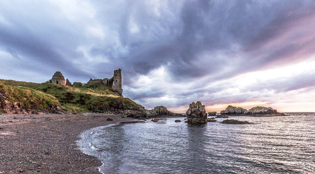 Dunure Castle.