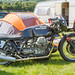 Lydden Hill August 2016 Paddock Sidecar Moto Guzzi Le Mans No 2 001