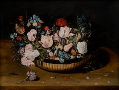 Osias Beert the Elder, Basket of Flowers, c. 1615