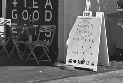 Mint and Honey - Sign bw
