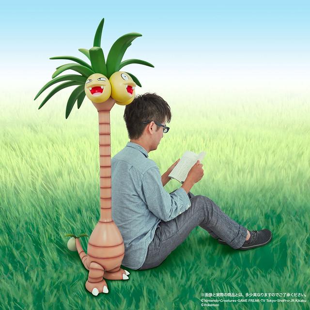 高達一公尺的椰蛋樹到你家!!G.G.P. 系列 精靈寶可夢【椰蛋樹(阿羅拉地區)】 ナッシー アローラのすがた