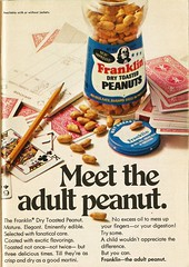 Franklin Dry Toasted Peanuts, 1966