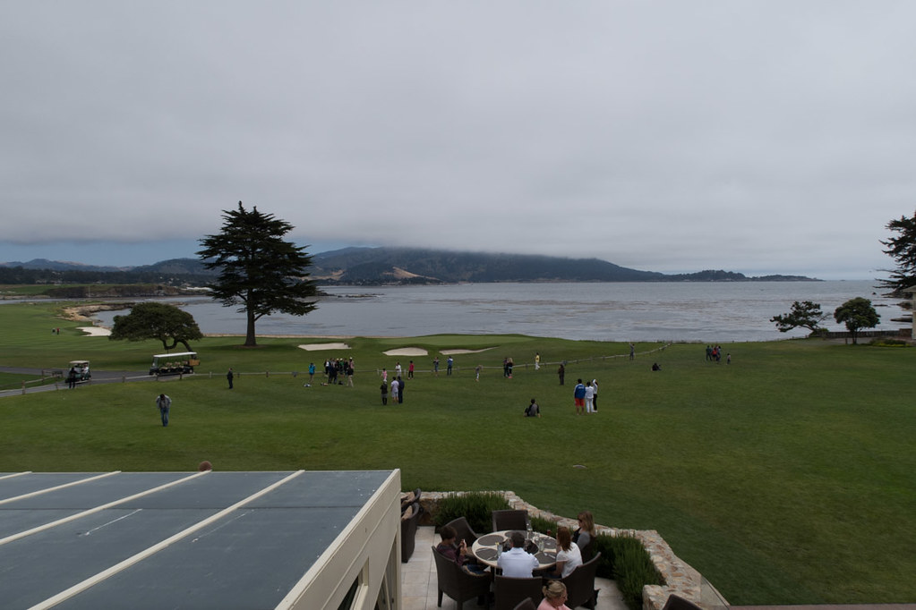 View from Stillwater Bar and Grill at Pebble Beach