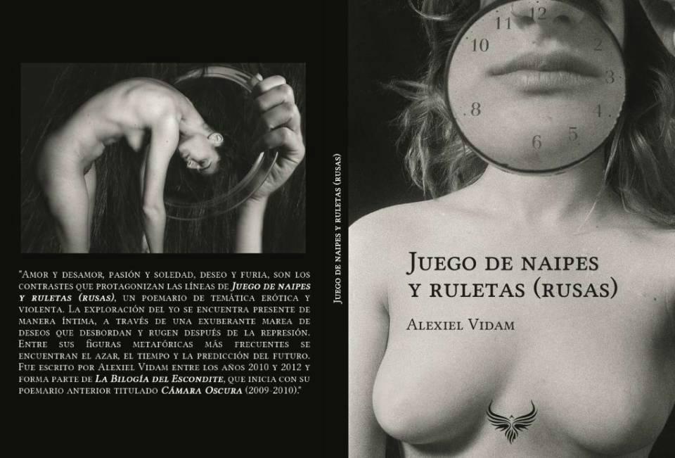 Poesía Maldita | El nuevo de libro de Alexiel Vidam ya está a la venta