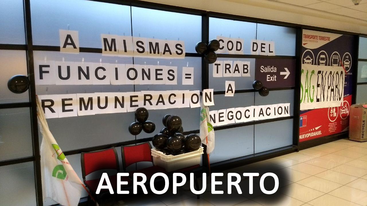Imágenes de las Oficinas SAG del país en Paro Nacional Advertencia – 24 Agosto 2017