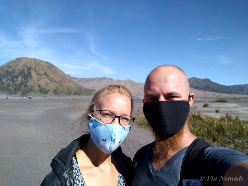 hiking bromo mask