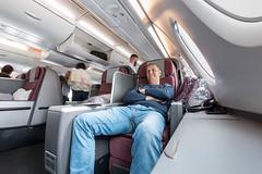 Qantas Business class