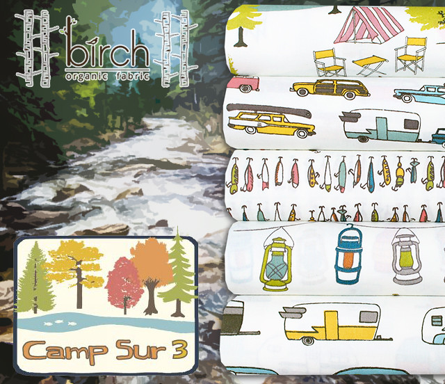 Birch Fabrics Camp Sur 3 Collection by Jay-Cyn Designs
