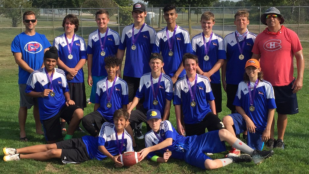 Touch Football (Boys Grade 9) Champions - Orchard Parks Patriots