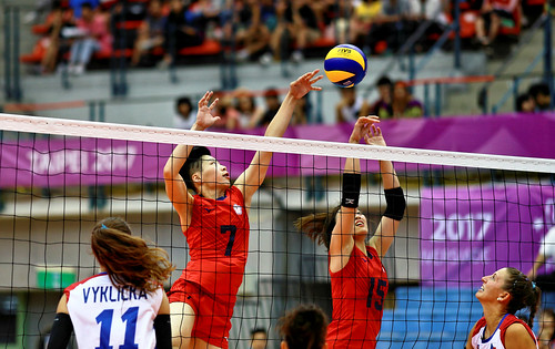 Taipei Universiade 2017 - 台灣排球 - Volleyball - Taiwan vs Tzech Republic