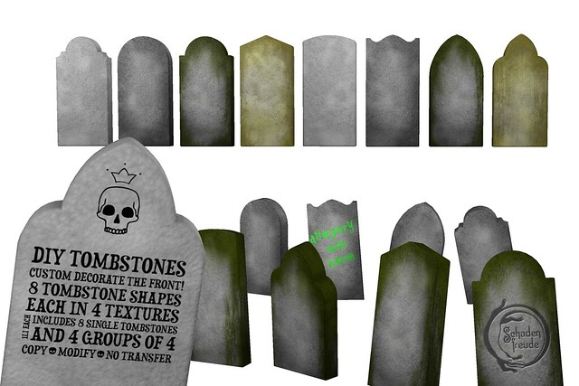 diy tombstones