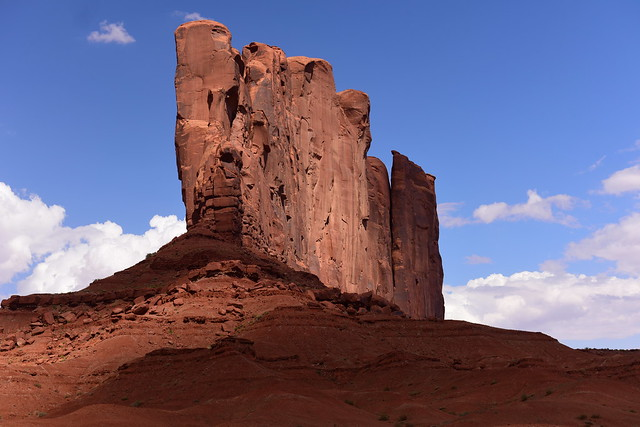 Monument Valley Navajo Tribal Park, Arizona, US August 2017 755