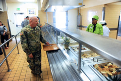IMCOM Commander visit Presidio