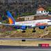 Jet2 B757 (G-LSAE) landing on Rnwy 05 at Madeira LPMA