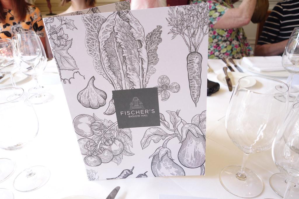 Fischer's Baslow Hall Tasting Menu