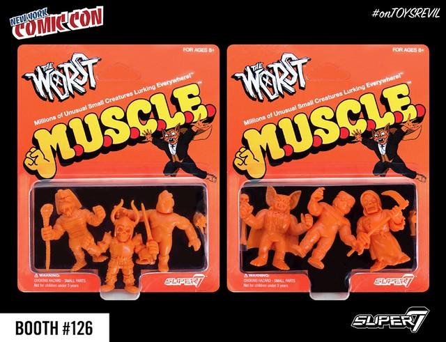 The Worst M.U.S.C.L.E. Halloween Orange Variant