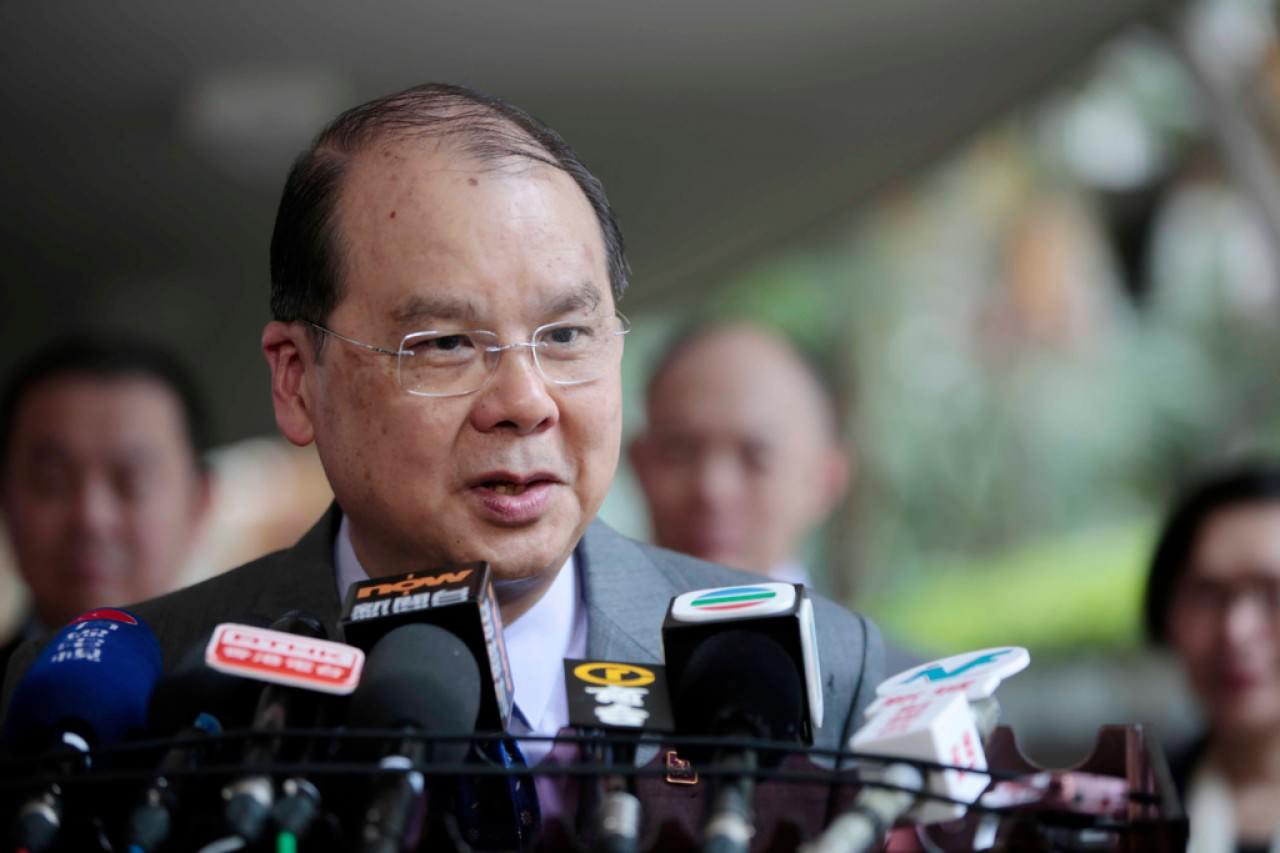 張建宗表示政府相當關心HK Express取消航班事件。(資料圖片)
