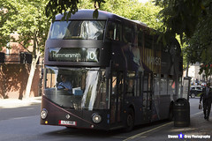 Wrightbus NRM NBFL - LTZ 1168 - LT168 - Mango - Hammersmith 10 - RATP Group - London 2017 - Steven Gray - IMG_9068
