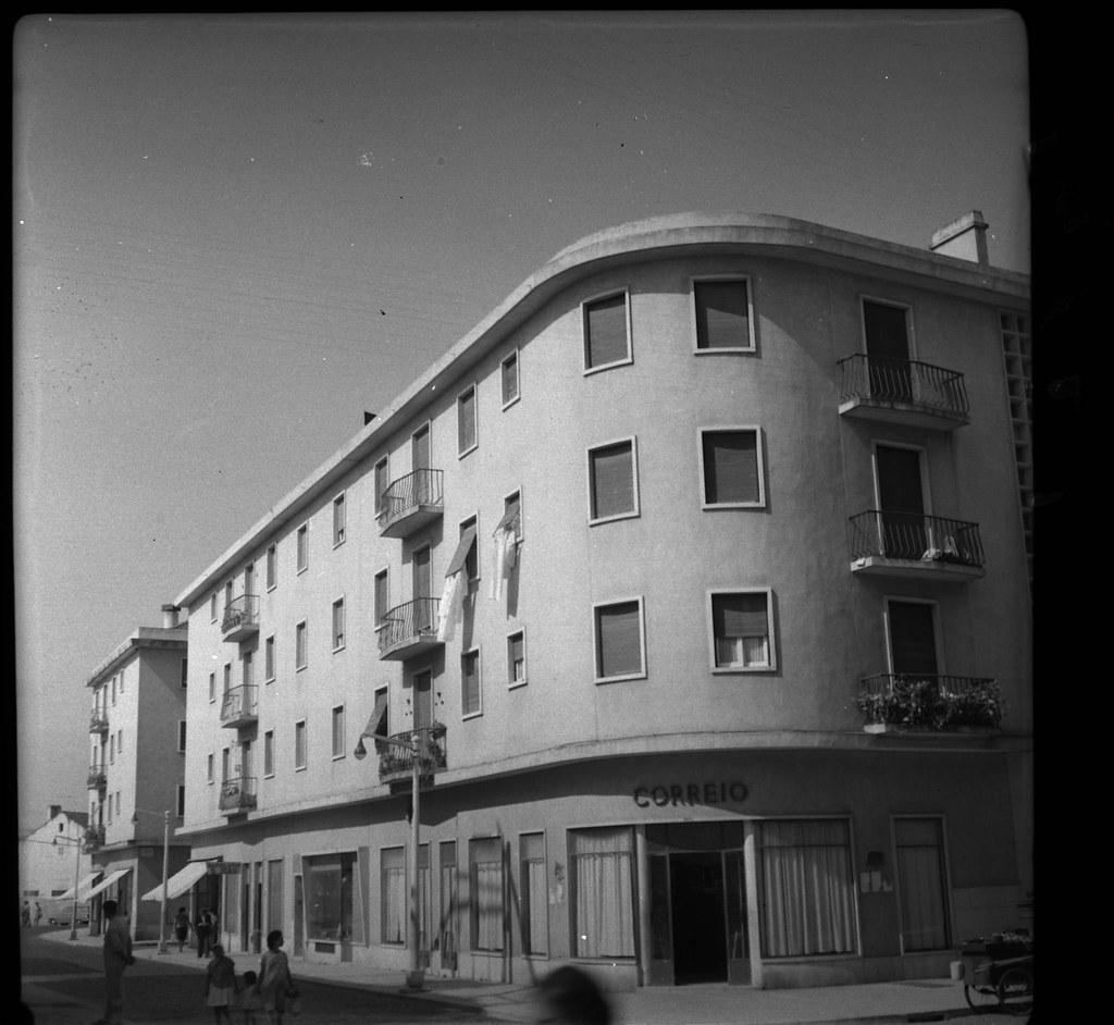 Antiga estação de Correios, Benfica (A.I. Bastos, 1961)