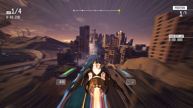 Redout Enhanced Edition - City Race
