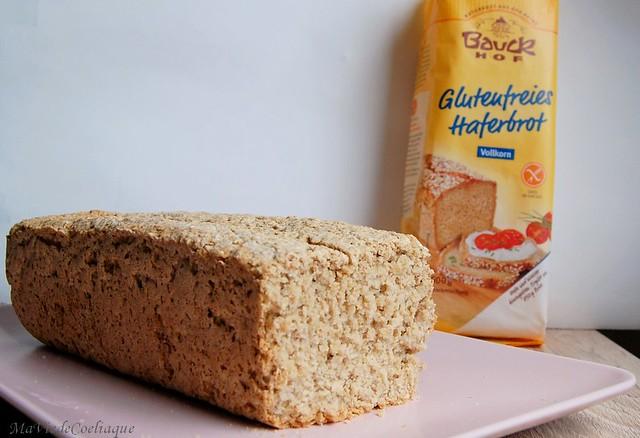 Pain à l'avoine sans gluten sans lactose