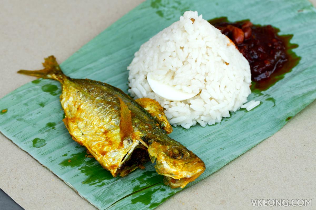 Nasi Lemak Ikan Goreng