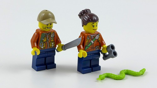 LEGO City Jungle Sekrety Dżungli 10