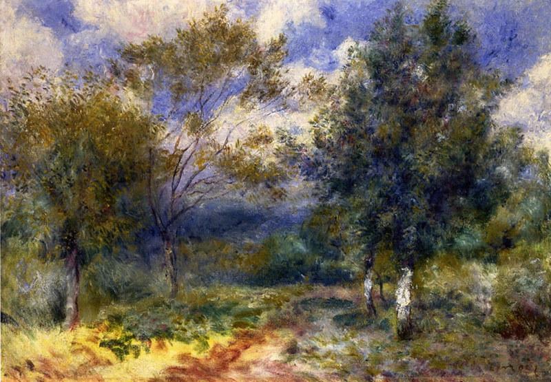 Sunny Landscape by Pierre Auguste Renoir, 1880