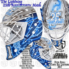The Lightning 25th Anniversary Mask