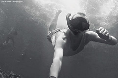 Thailand Snorkel Pileh Lagoon BW 2