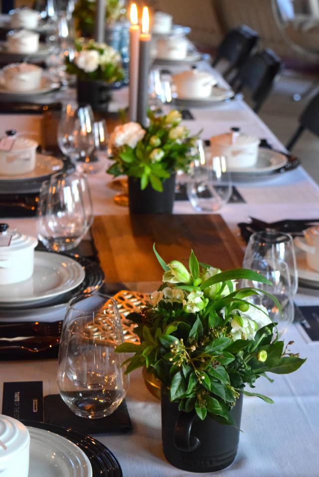 Le Creuset Dinner Table | www.rachelphipps.com @rachelphipps