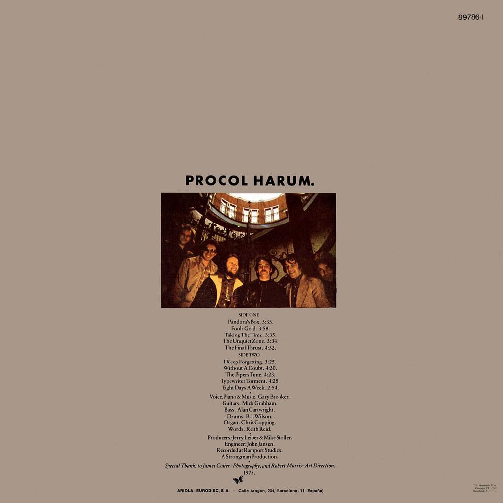 Procol Harum - Procol's Ninth b