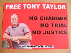 Free tony Taylor Campaign Postcard