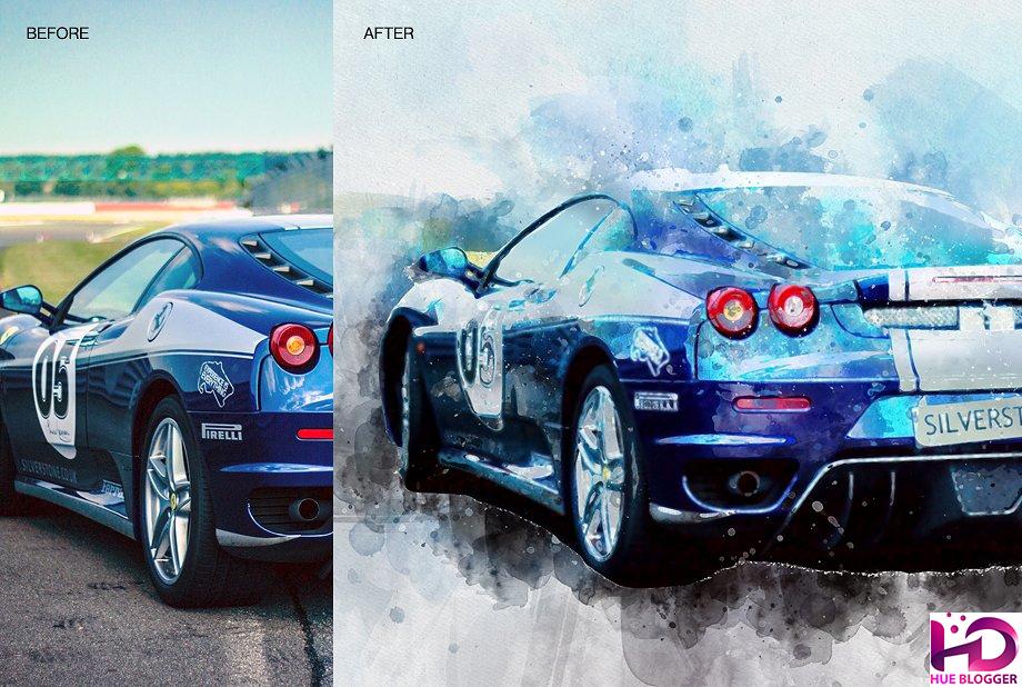 Hướng dẫn chuyển hình ảnh thành tranh sơn dầu