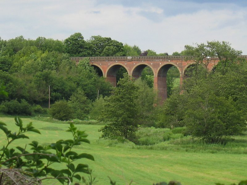 railway viaduct in eynsford