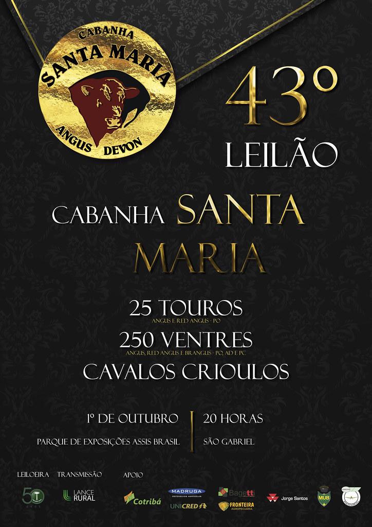 Leilão Cabanha Santa Maria
