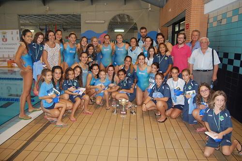 Waterpolo Dos Hermanas femenino campeón del torneo local