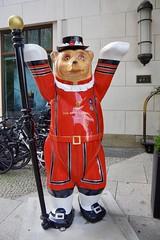 Berlin Bear outside the Ritz Carlton