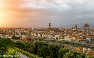Florence sunset | by PapaPiper